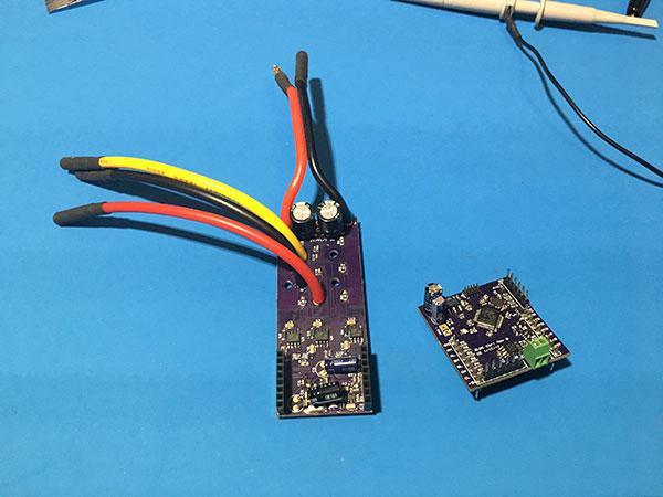 Second BLDC board