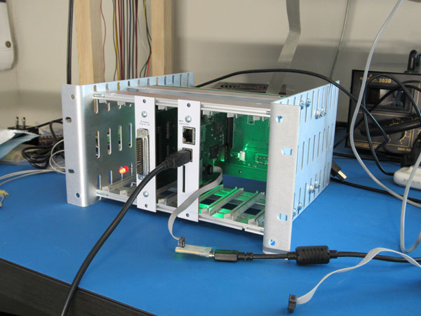 Full test system chassis