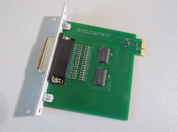 Digital I/O card